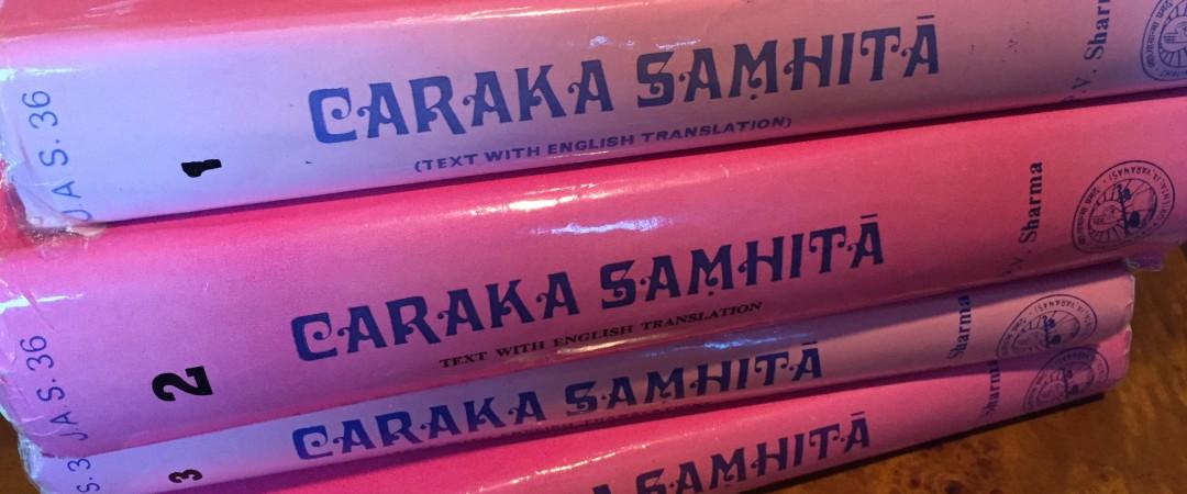 Caraka Samhita Books 3