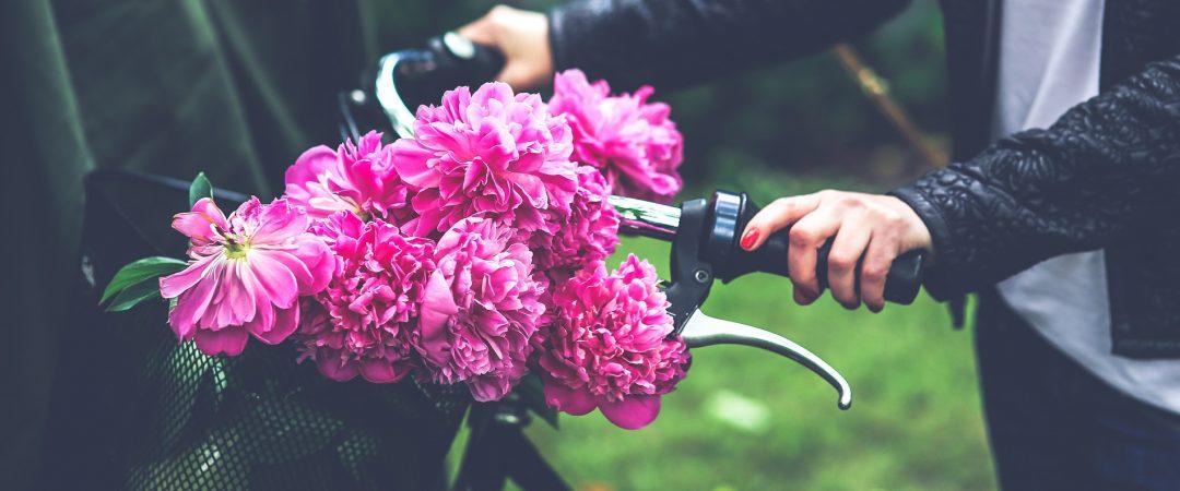 Woman w:bike