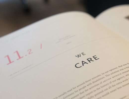 We Care Book