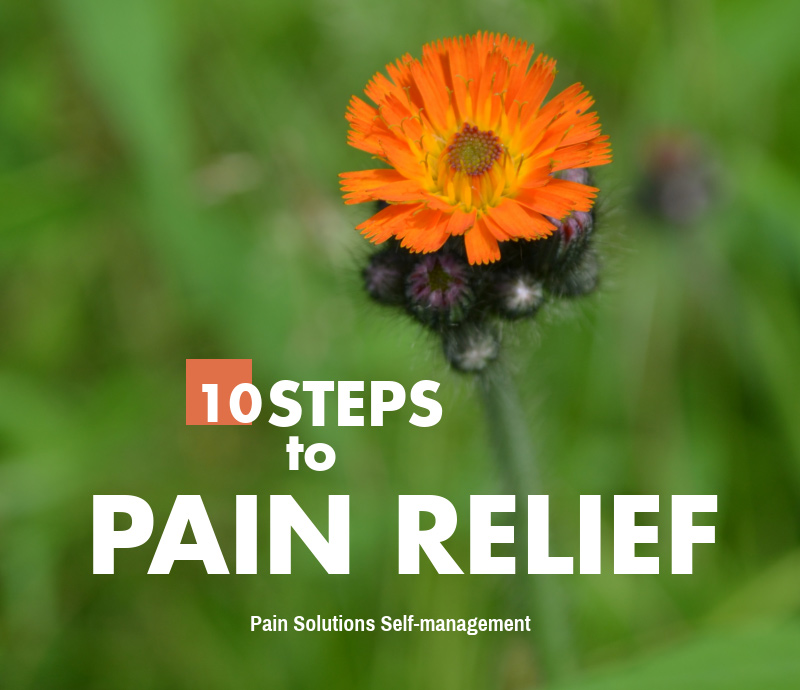 10 Steps to Pain Relief Infographic