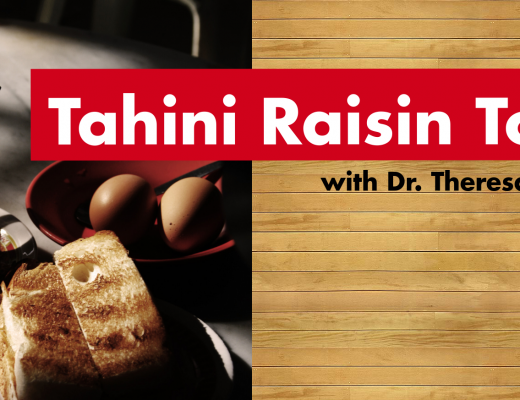 Tahini Raisin Toast